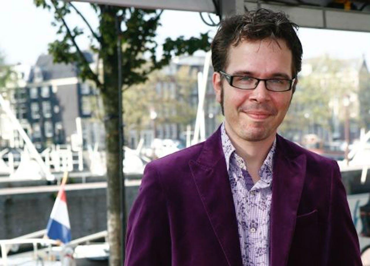 DJ Michiel Veenstra. ANP