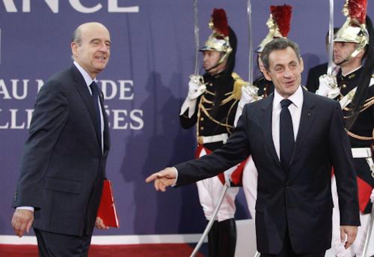 De Franse president Nicolas Sarkozy. EPA