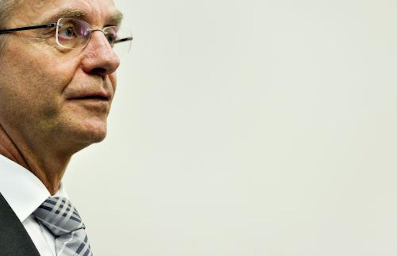 Minister Henk Kamp. ANP