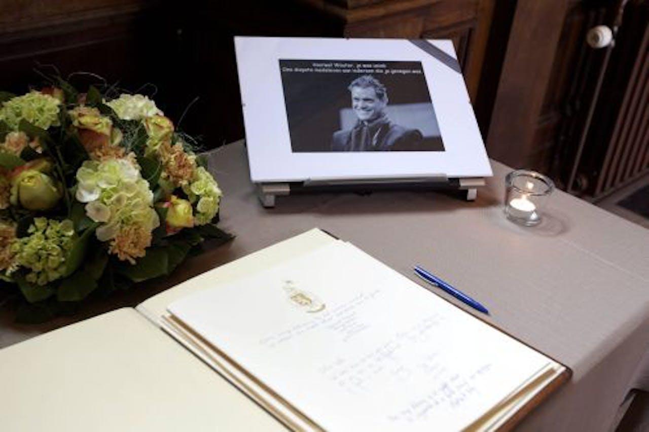 In Gent is een condoleanceregister geopend voor de overleden wielrenner. EPA
