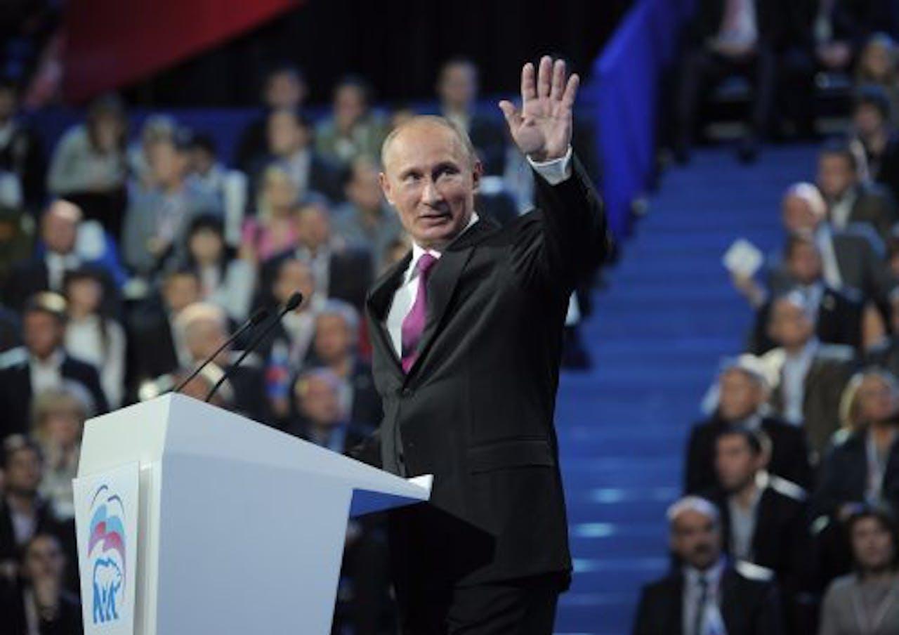 De Russische premier en ex-president Vladimir Poetin. EPA