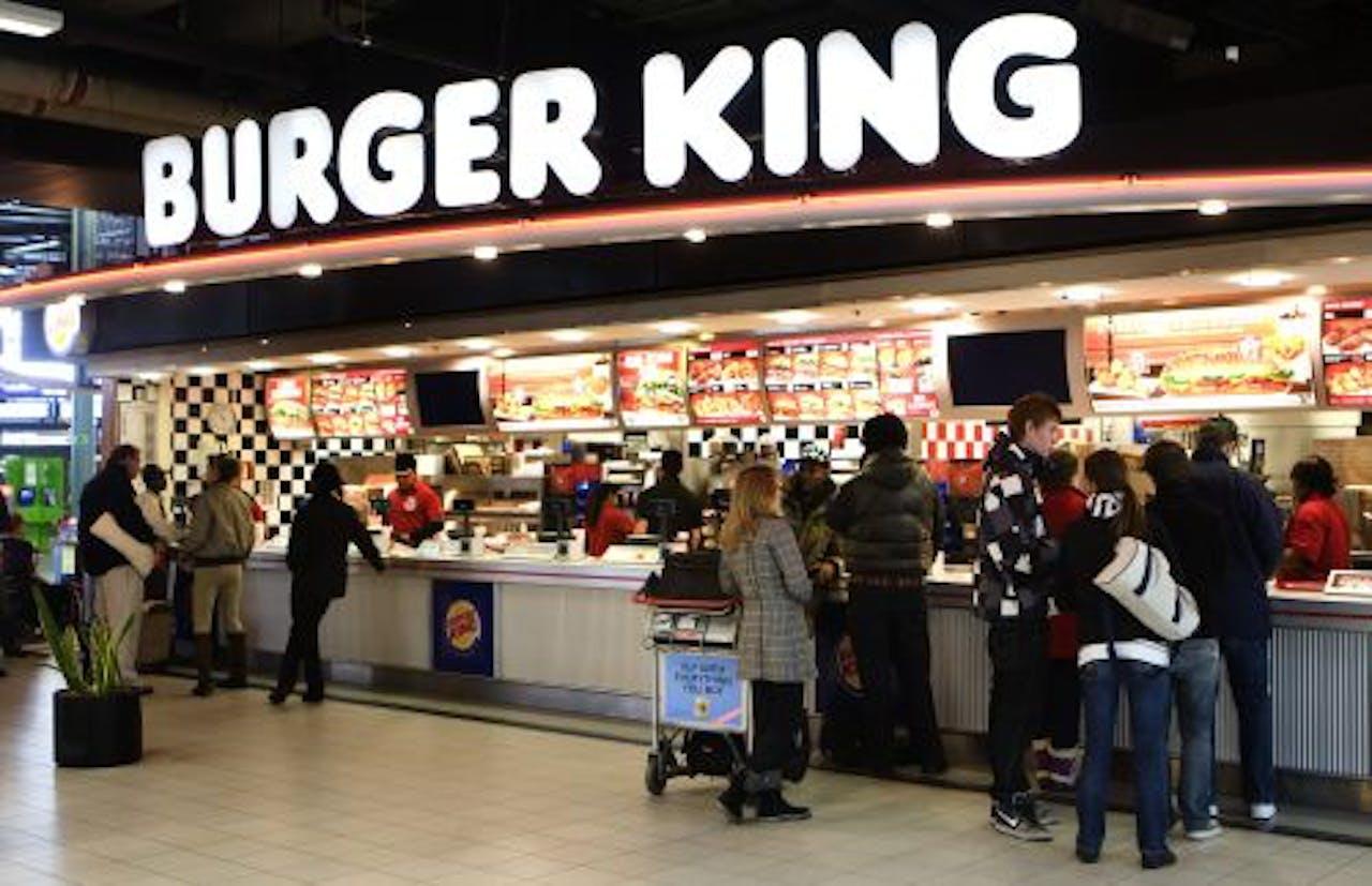 De Burger King op Schiphol. ANP
