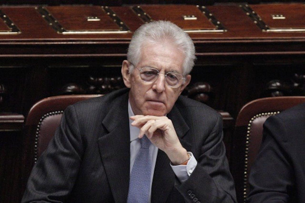 Premier Mario Monti. EPA