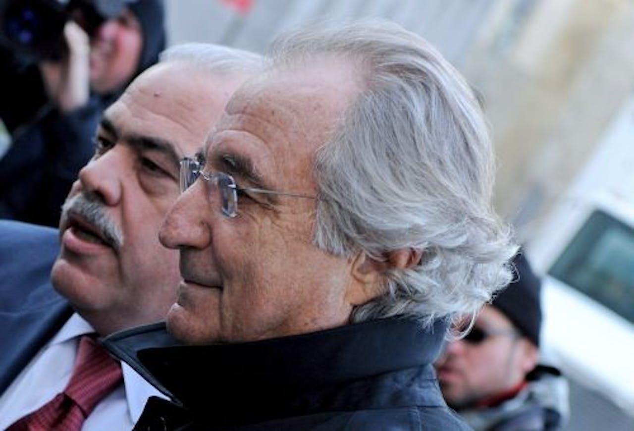 Bernard Madoff. EPA