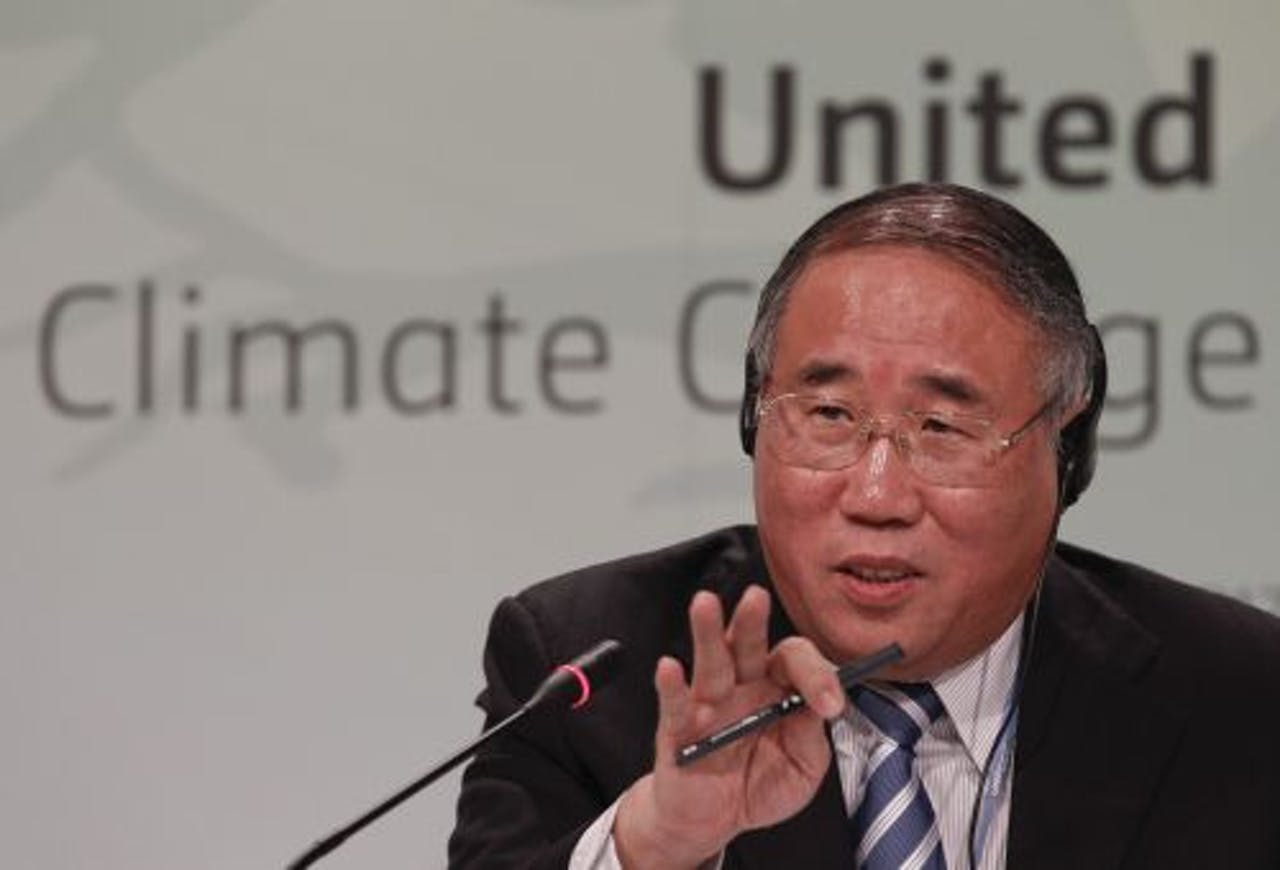 De Chinese onderhandelaar Xie Zhenhua. EPA