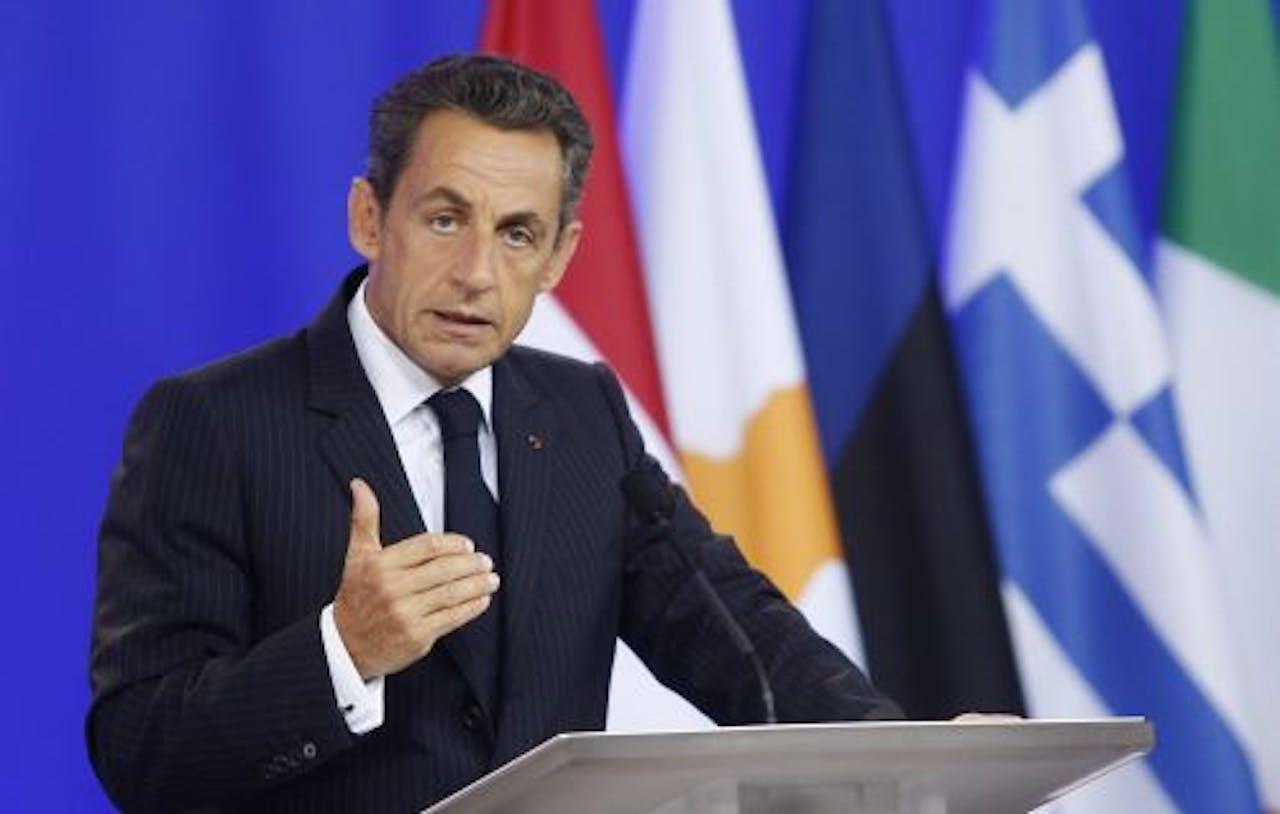 Nicolas Sarkozy. EPA