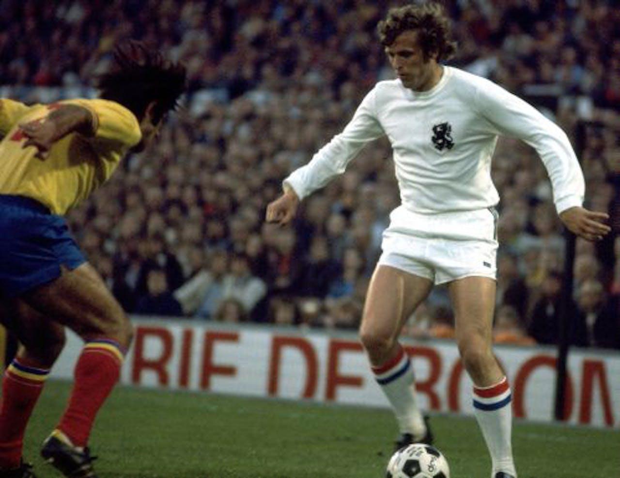 Piet Keizer in 1974. ANP