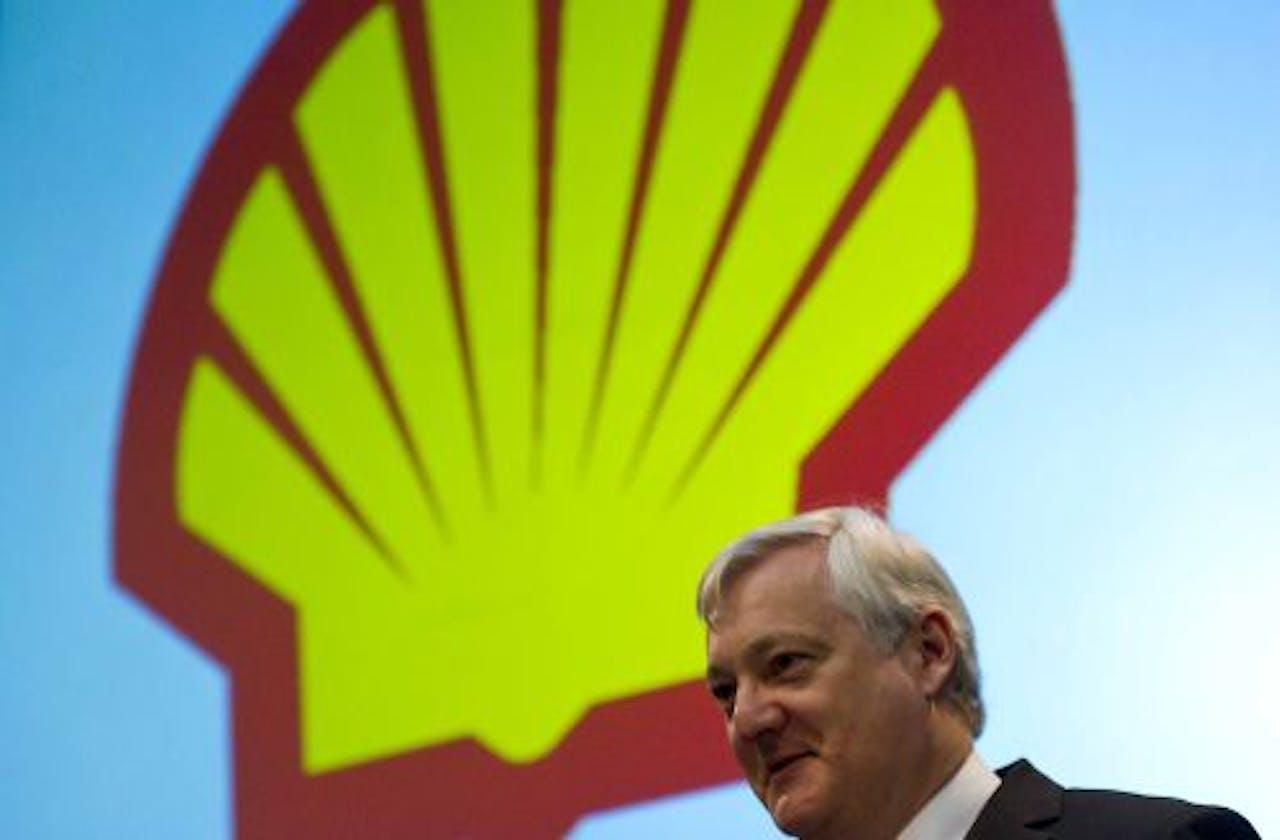 Topman Peter Voser van Shell. ANP
