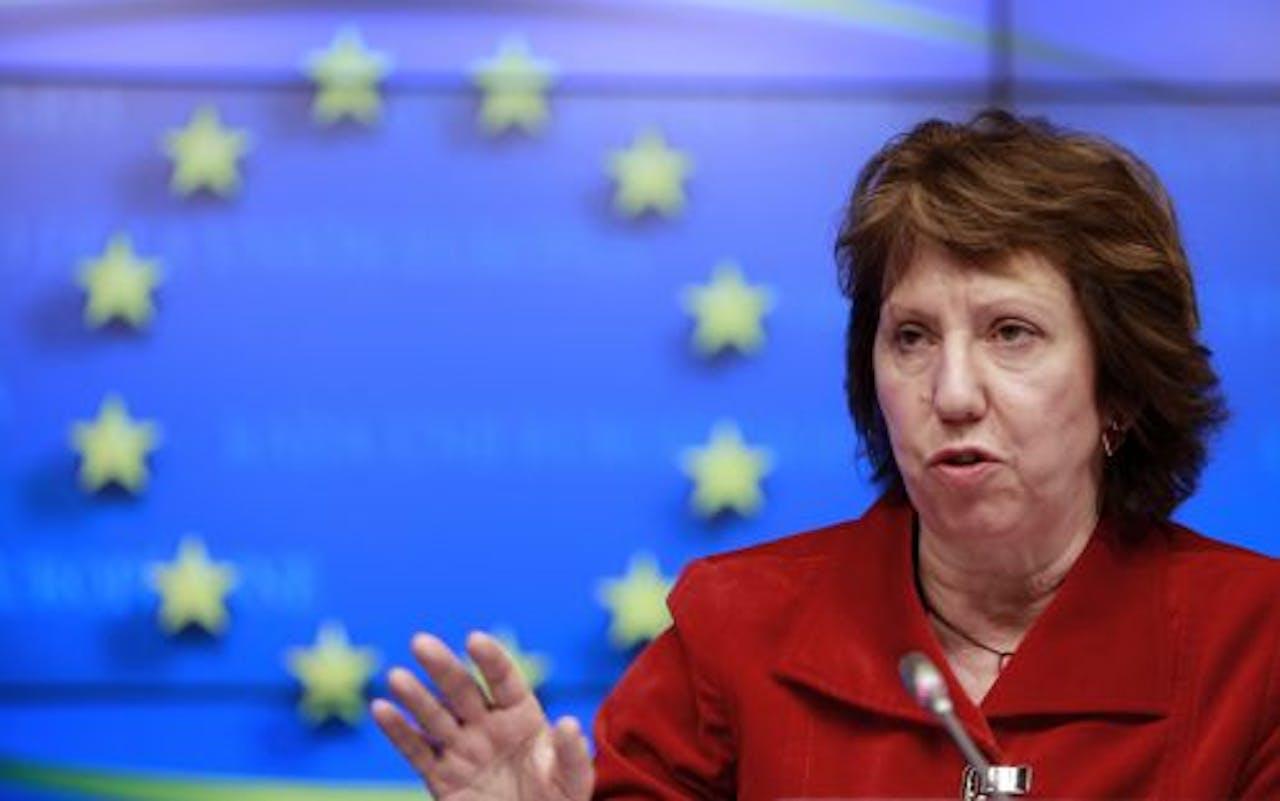 De buitenlandchef van de Europese Unie, Catherine Ashton. EPA
