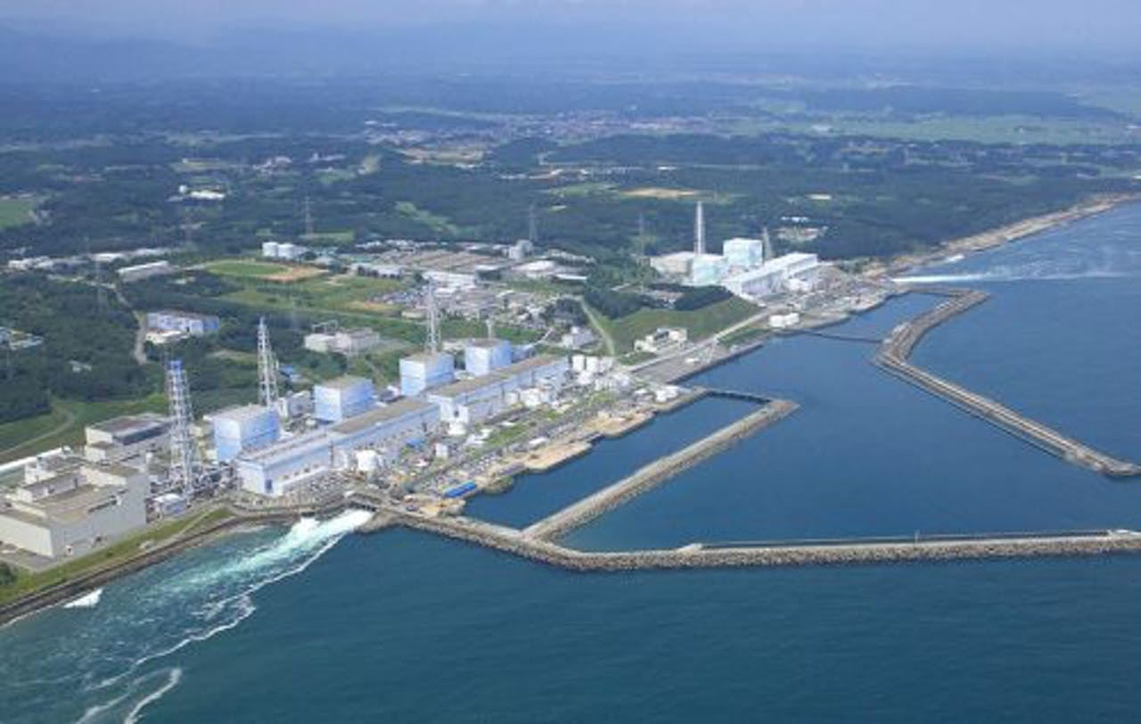 De Japanse Fukushima I kerncentrale. EPA