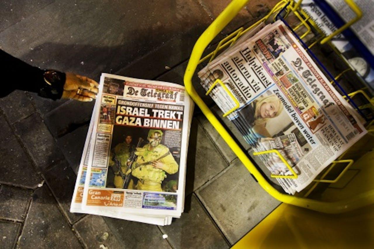 De zondageditie van de Telegraaf verscheen al eerder op tabloidformaat. Deze editie bestaat nu niet meer. ANP