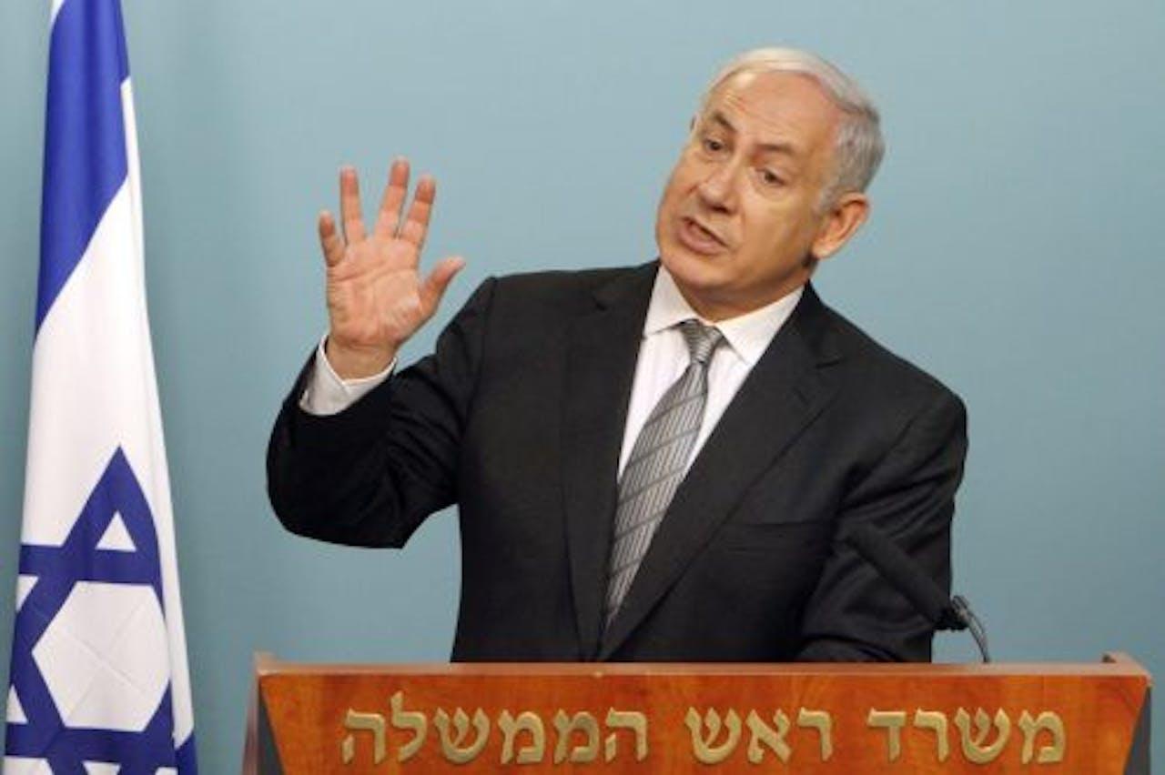 Benjamin Netanyahu. EPA