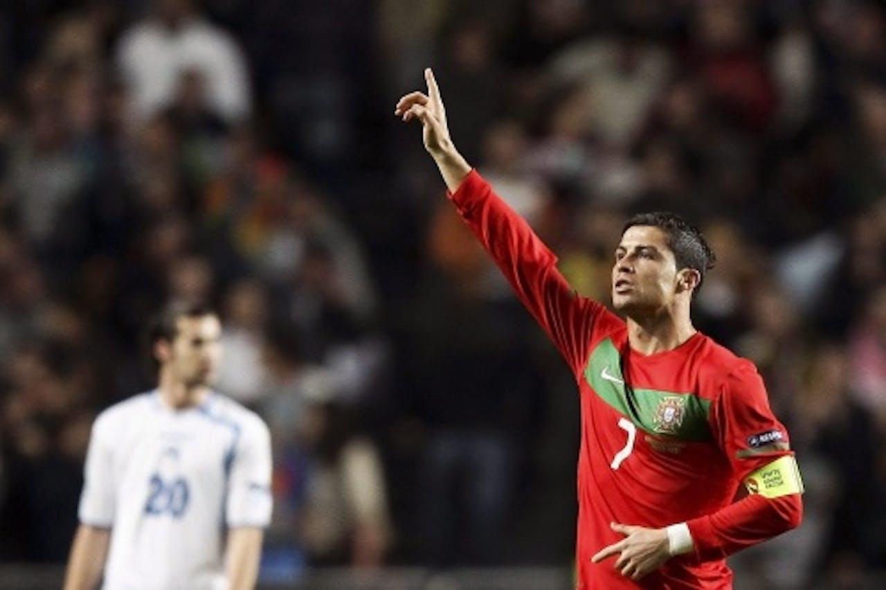 Cristiano Ronaldo. EPA