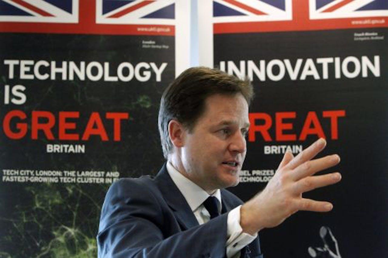 Nick Clegg. EPA