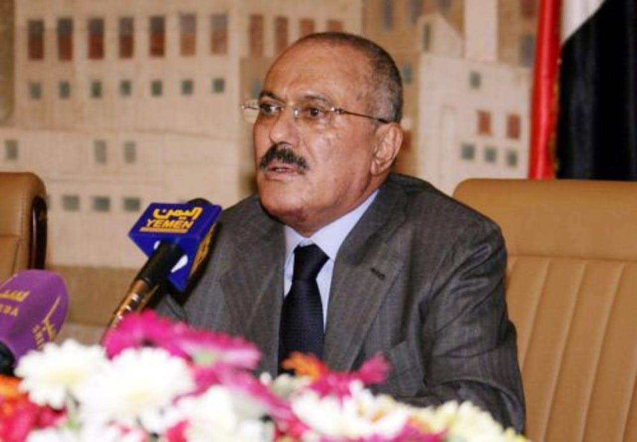 Ali Abdullah Saleh. EPA