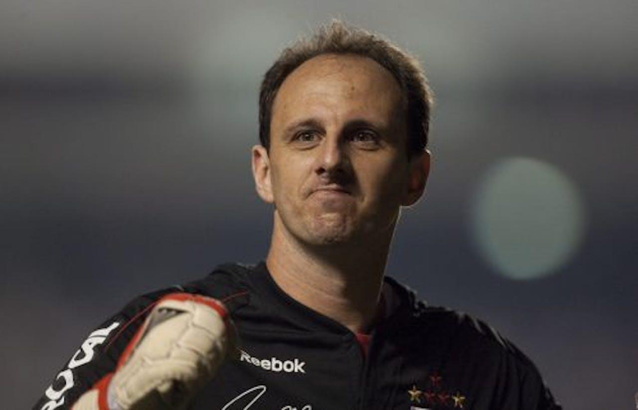 Sao Paulo-doelman Rogério Ceni. EPA