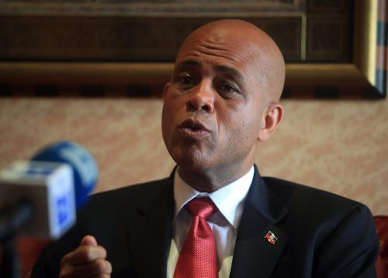 Michel Martelly. EPA