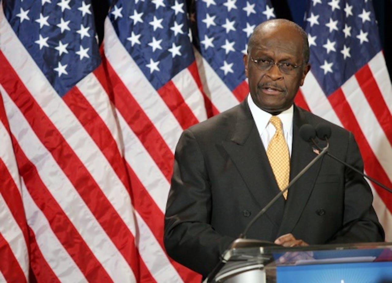 Herman Cain. EPA