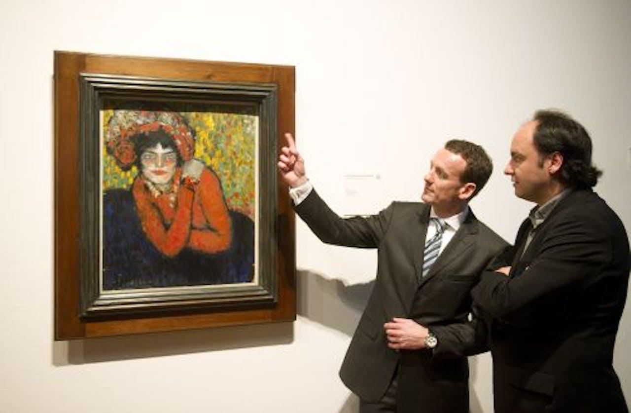 Het schilderij De verwachting (Margot) van Picasso. ANP