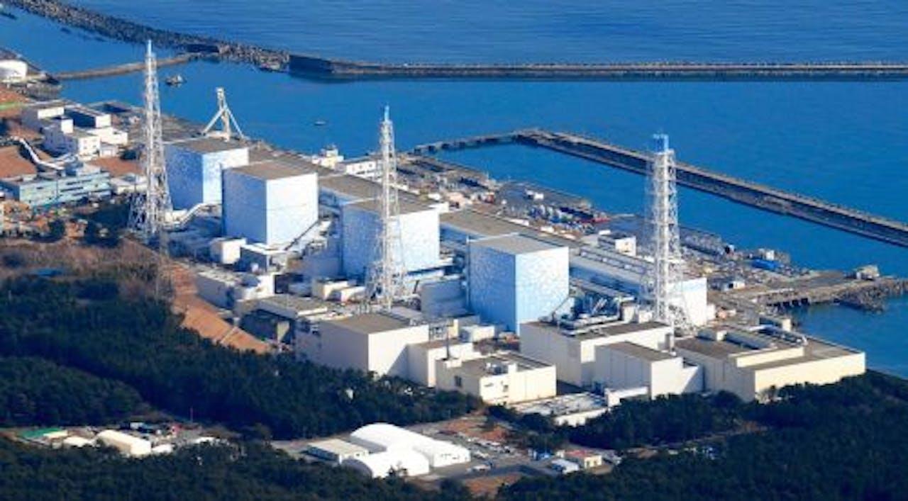 Kerncentrale Fukushima 1. EPA