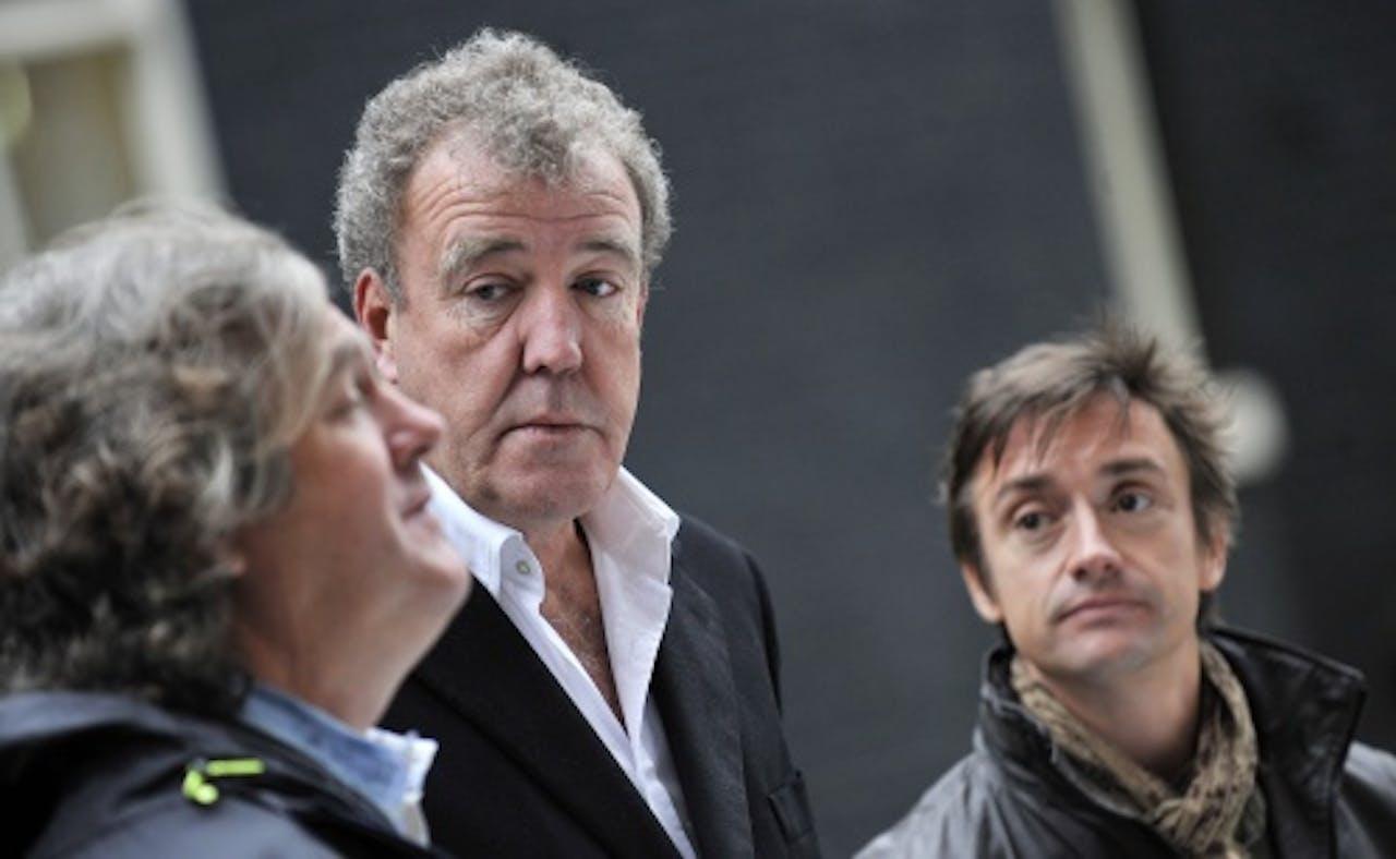 Jeremy Clarkson (M). EPA