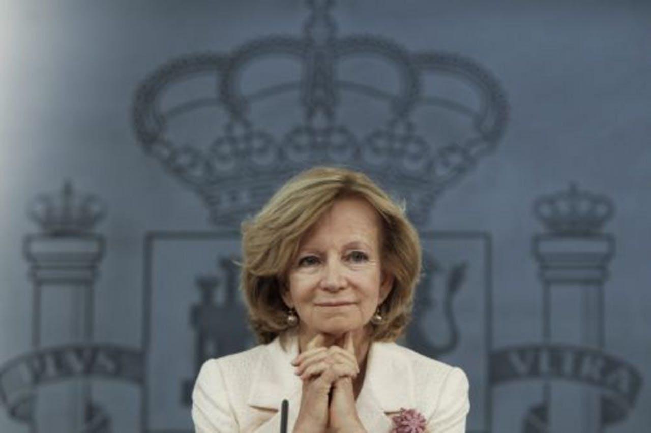 Elena Salgado. EPA