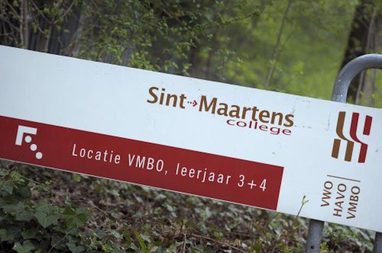 Het Sint-Maartenscollege in Maastricht. ANP