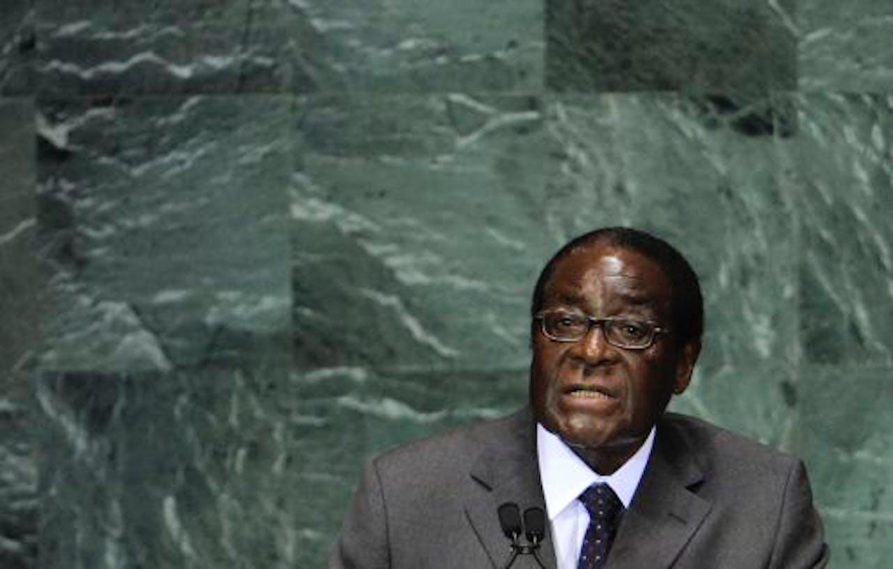 Robert Mugabe. EPA