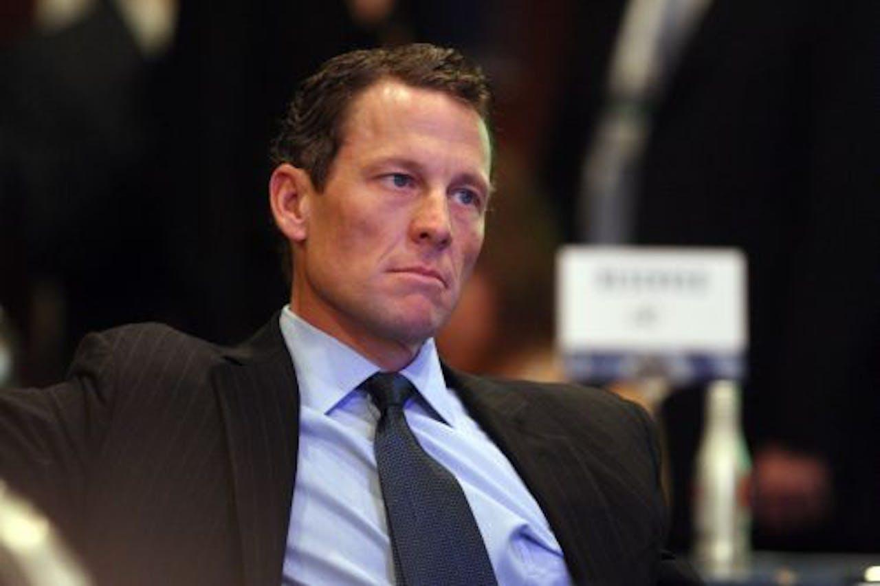 Lance Armstrong. EPA