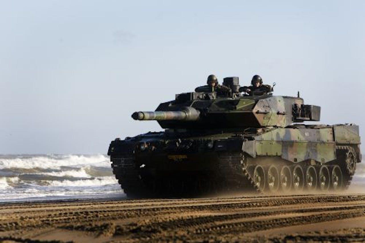 De Leopardtank. ANP