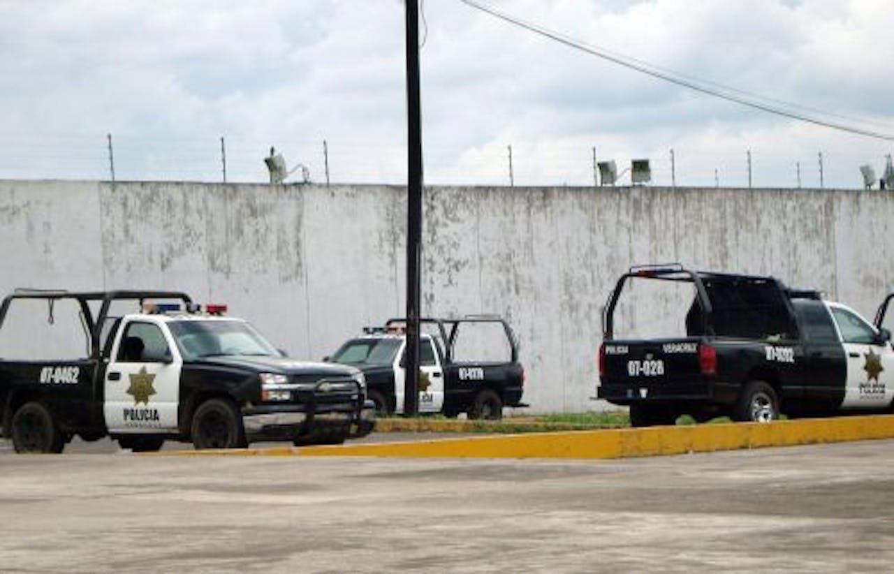 De gevangenis waar deze week 32 gevangenen uit ontsnapten. EPA