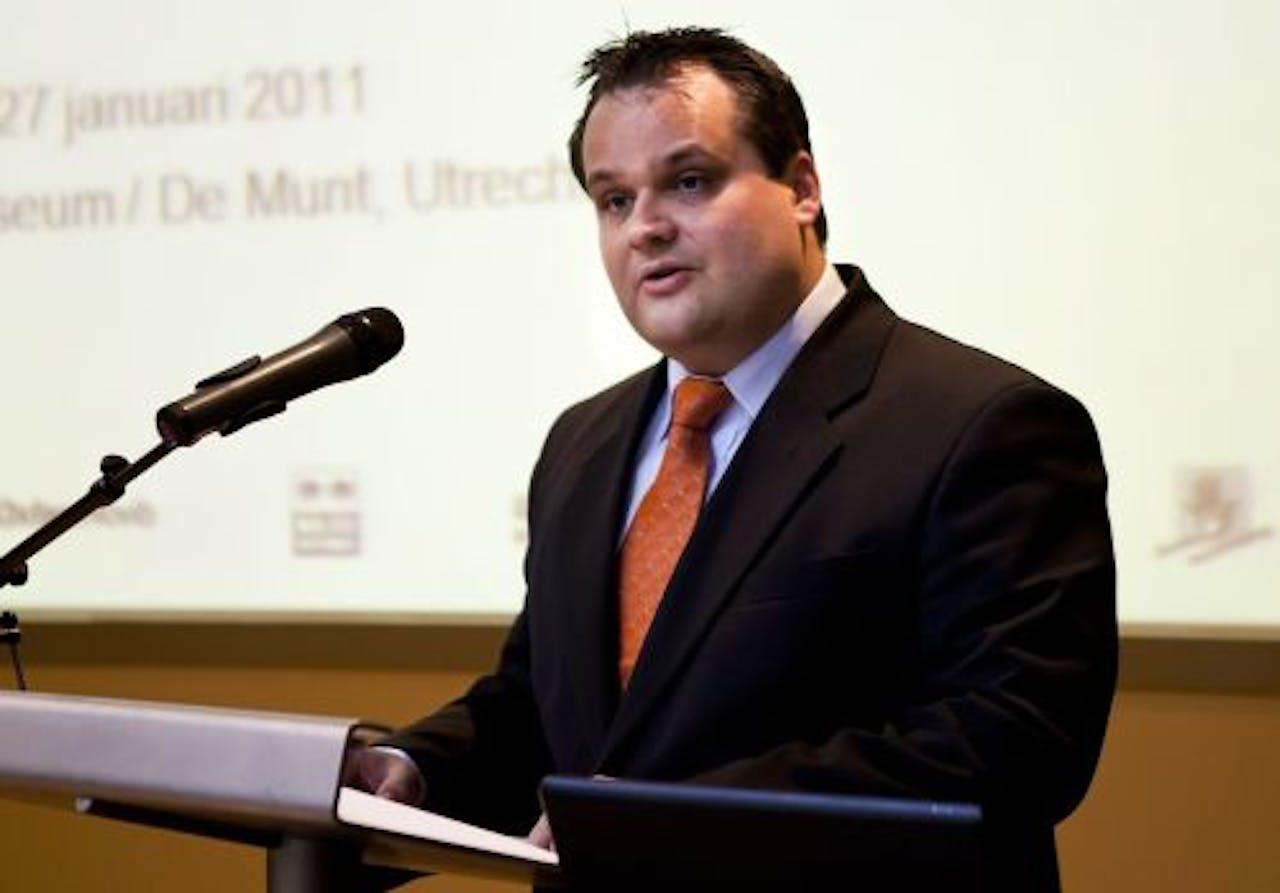 Minister Jan Kees de Jager van Financiën. ANP