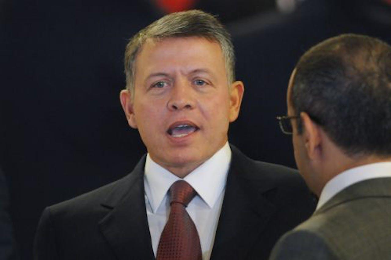 De Jordaanse Koning Abdullah. EPA