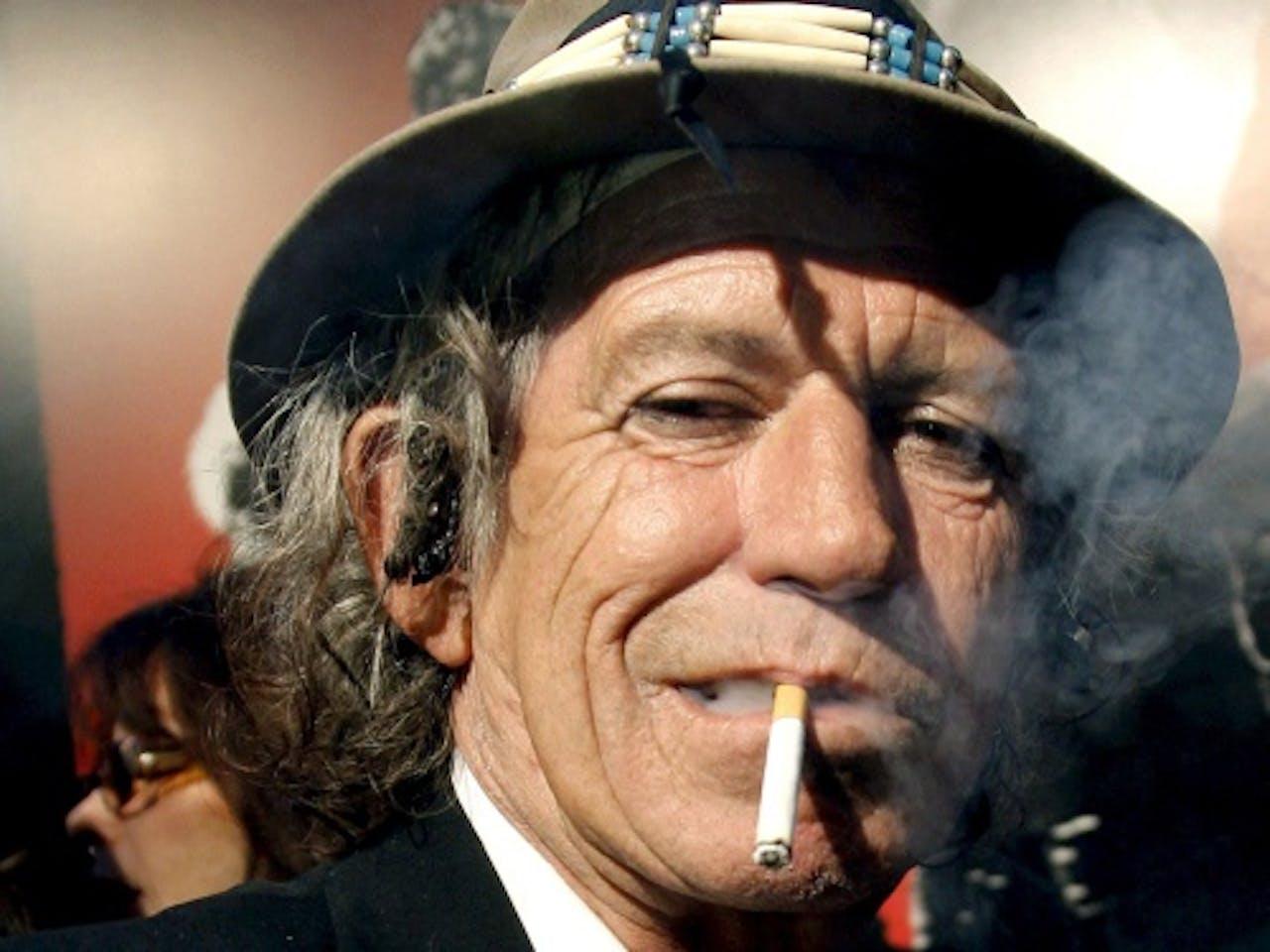 Stones-gitarist Keith Richards. EPA