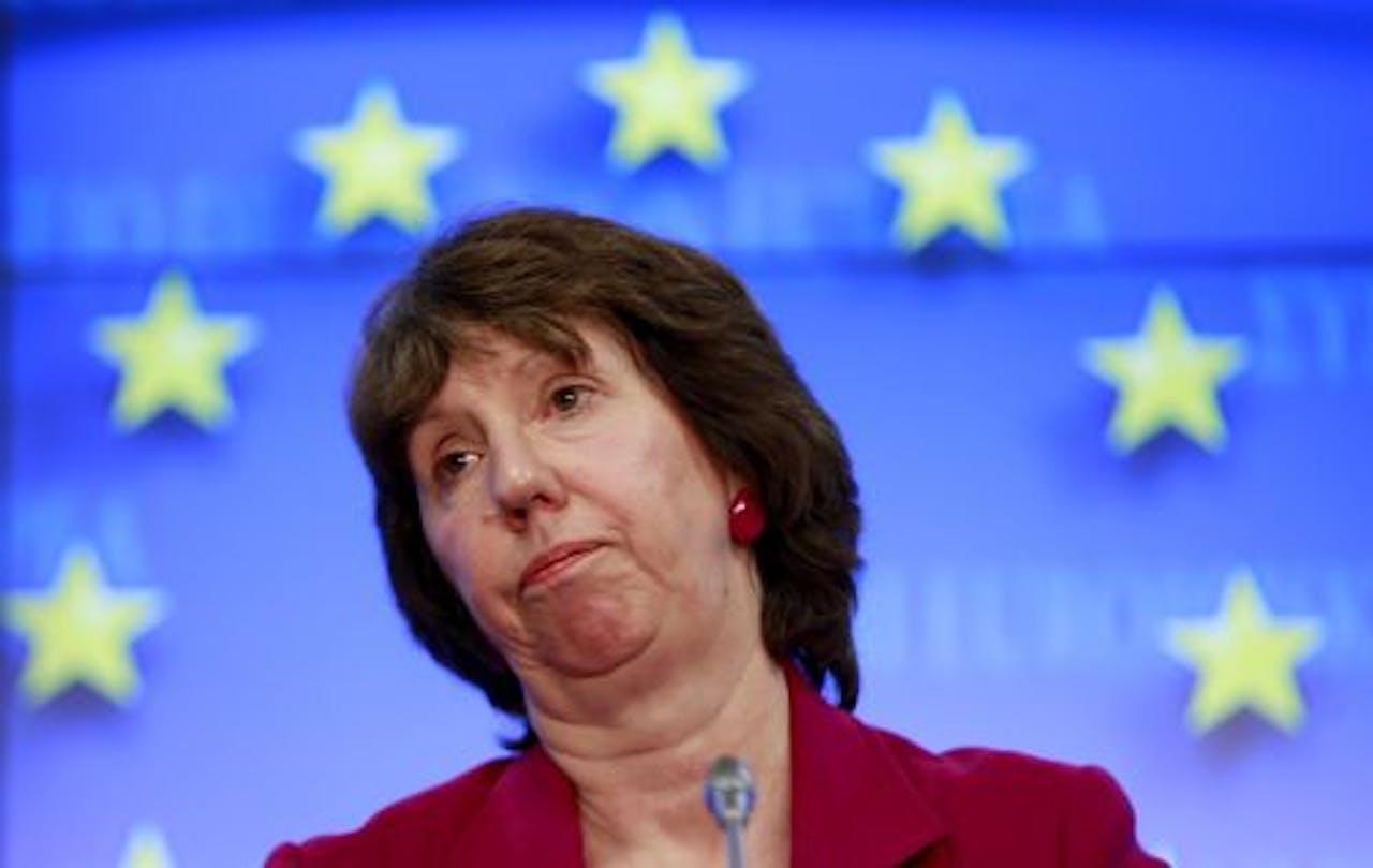Catherine Ashton. EPA