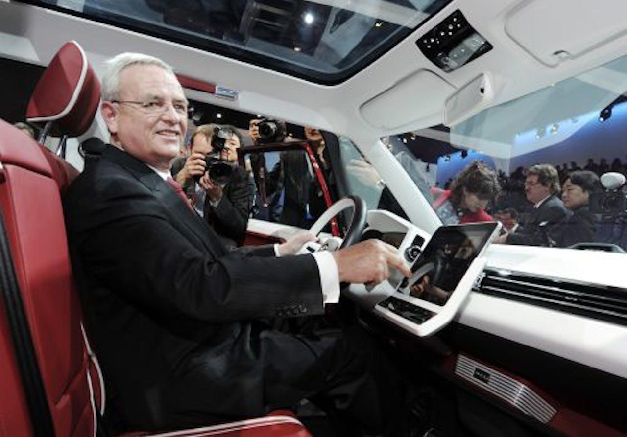 Volkswagen-topman Martin Winterkorn. EPA