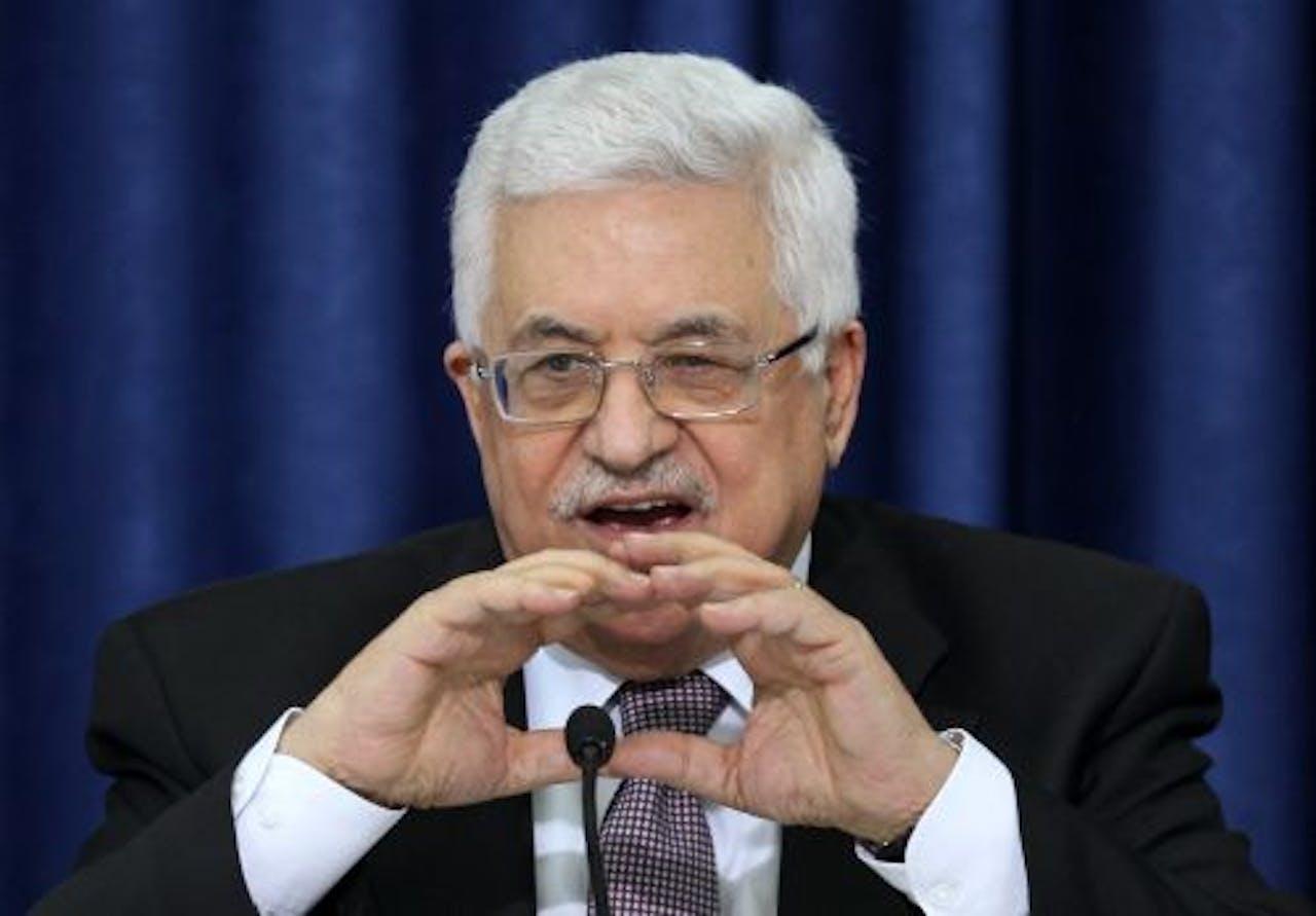 Mahmoud Abbas. EPA
