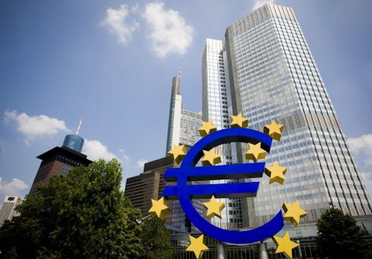 Gebouw van de Europeese Centrale Bank in Duitsland. ANP