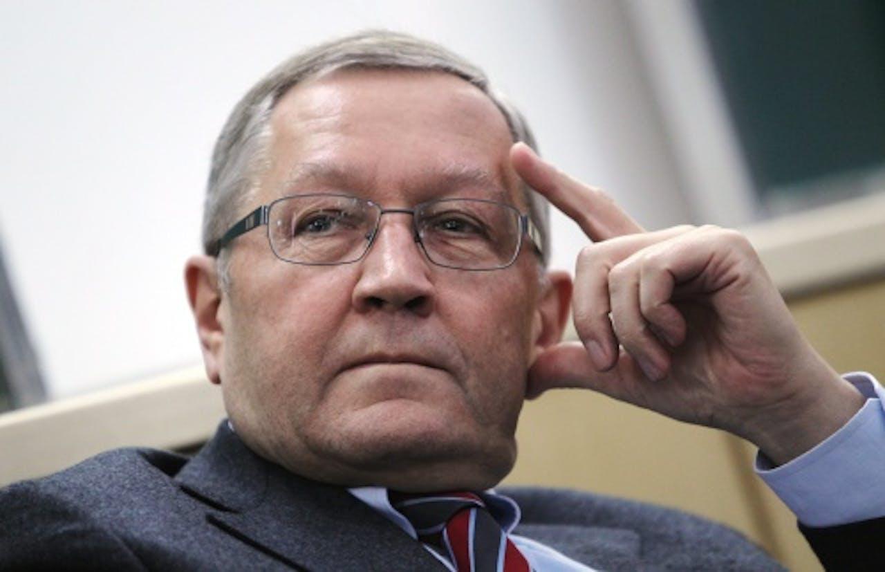 Klaus Regling. EPA