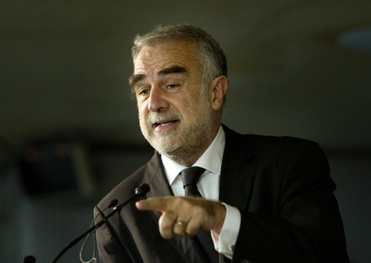 De huidige hoofdaanklager van het Internationaal Strafhof (ICC), Luis Moreno Ocampo. ANP