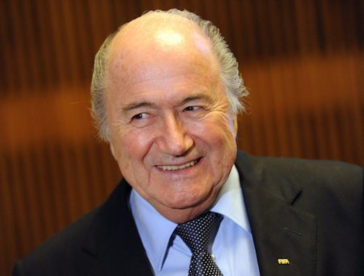 Sepp Blatter. EPA