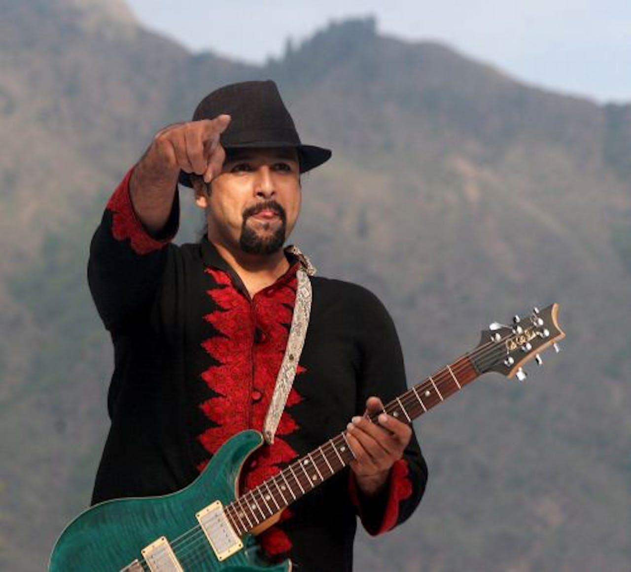 Salman Ahmad. EPA
