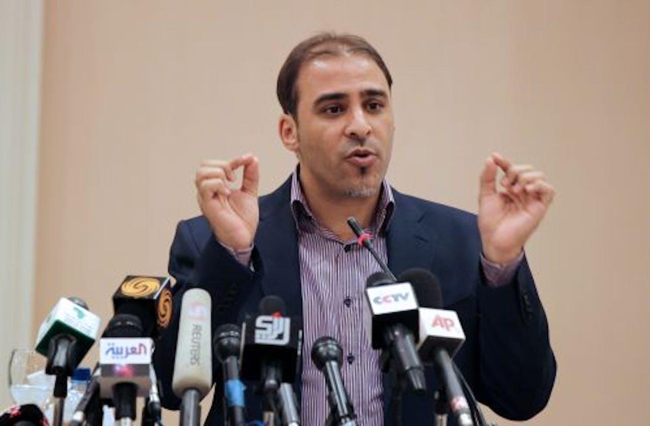 Moussa Ibrahim. EPA