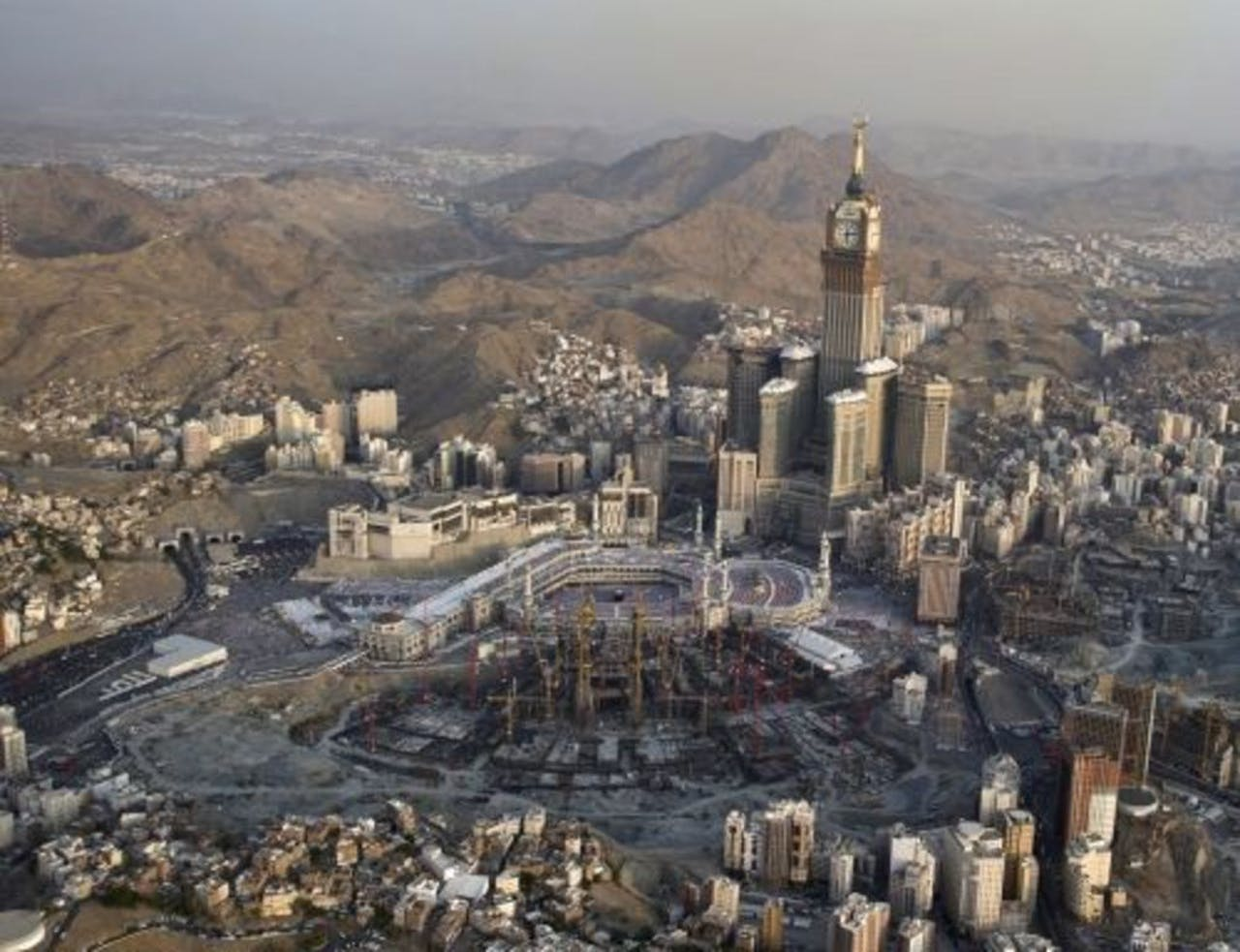 Mekka, Saudi-Arabië. EPA