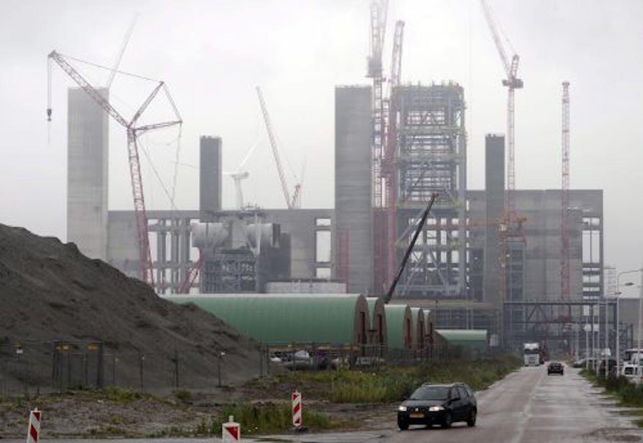 De nieuwe Essent-centrale in de Eemshaven. EPA