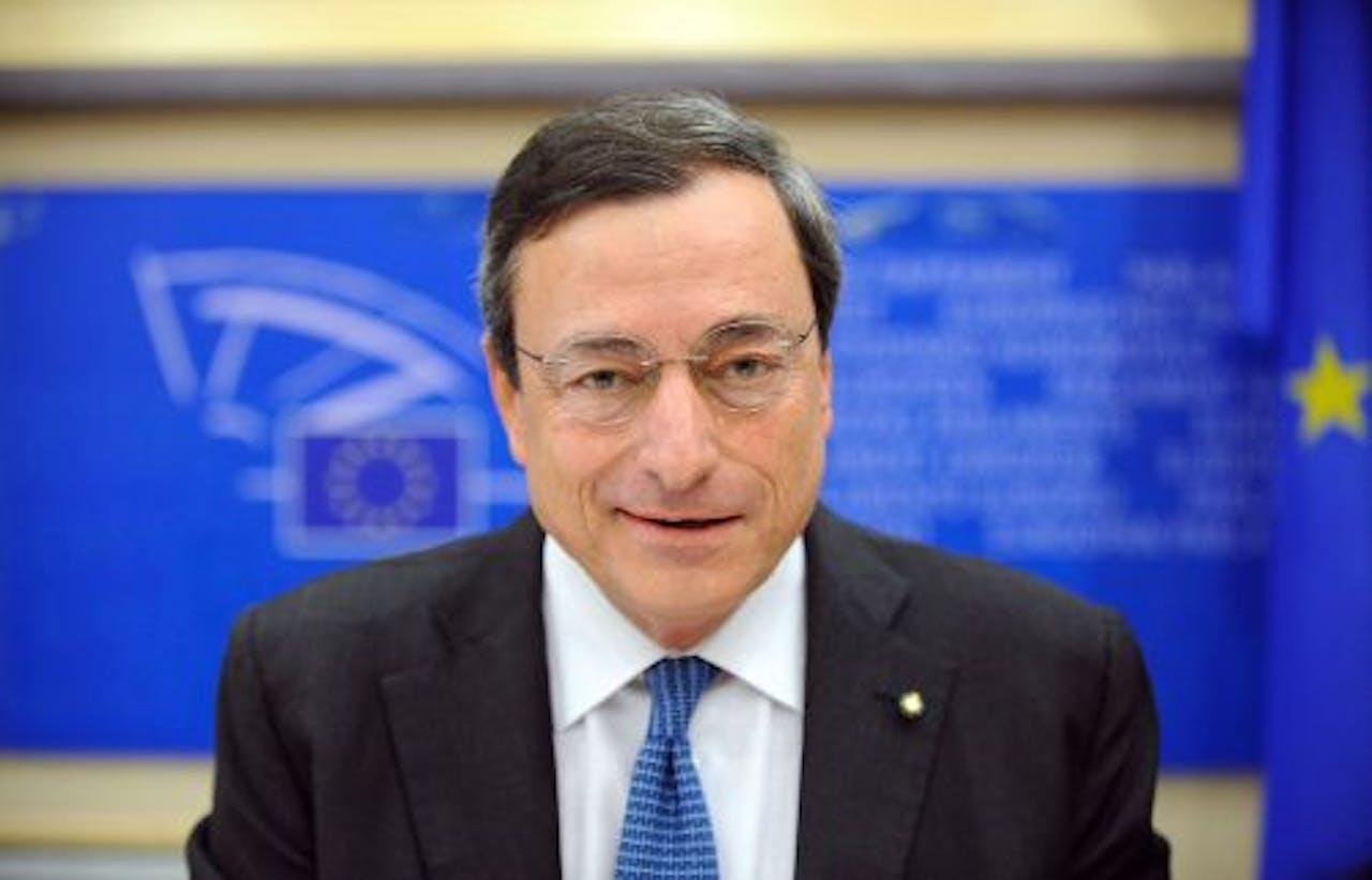 Mario Draghi, de nieuwe president van de Europese Centrale Bank (ECB). ANP