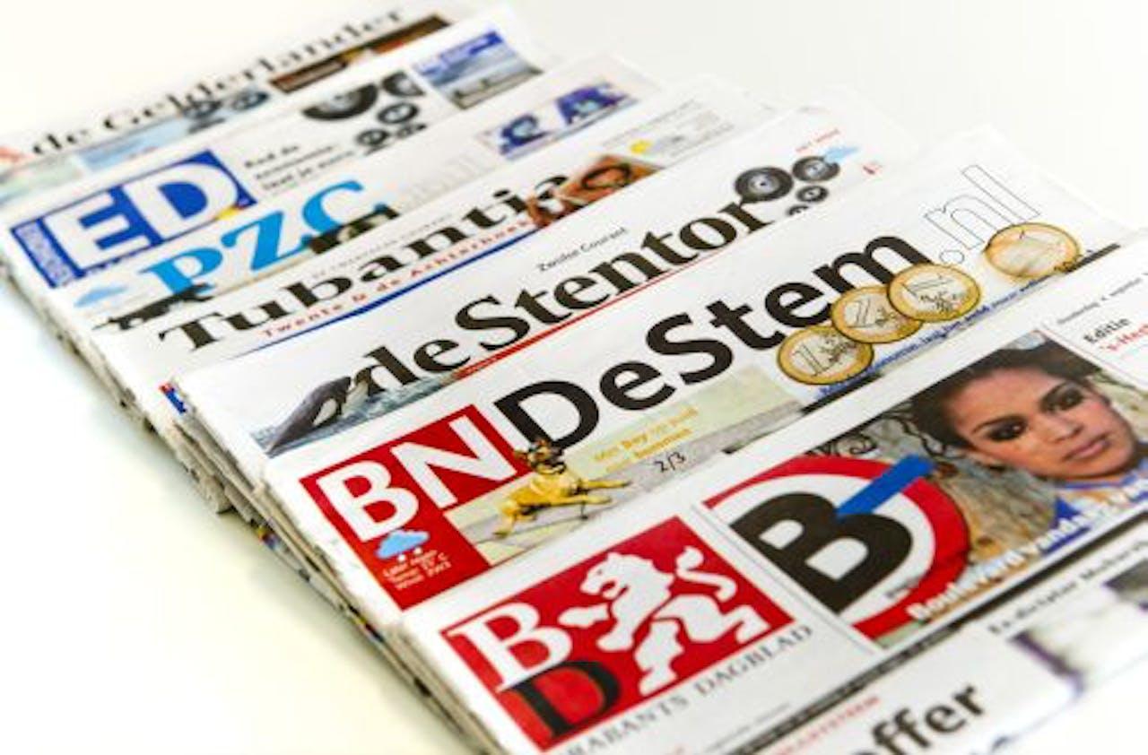 De kranten van Wegener. ANP
