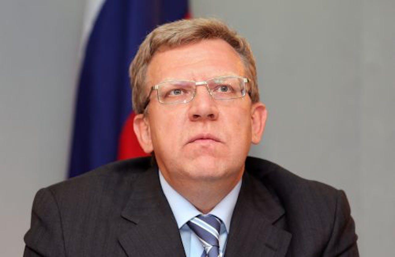 De Russische minister van Financiën Aleksej Koedrin. EPA