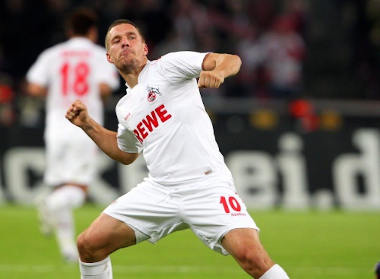 Lukas Podolski. EPA