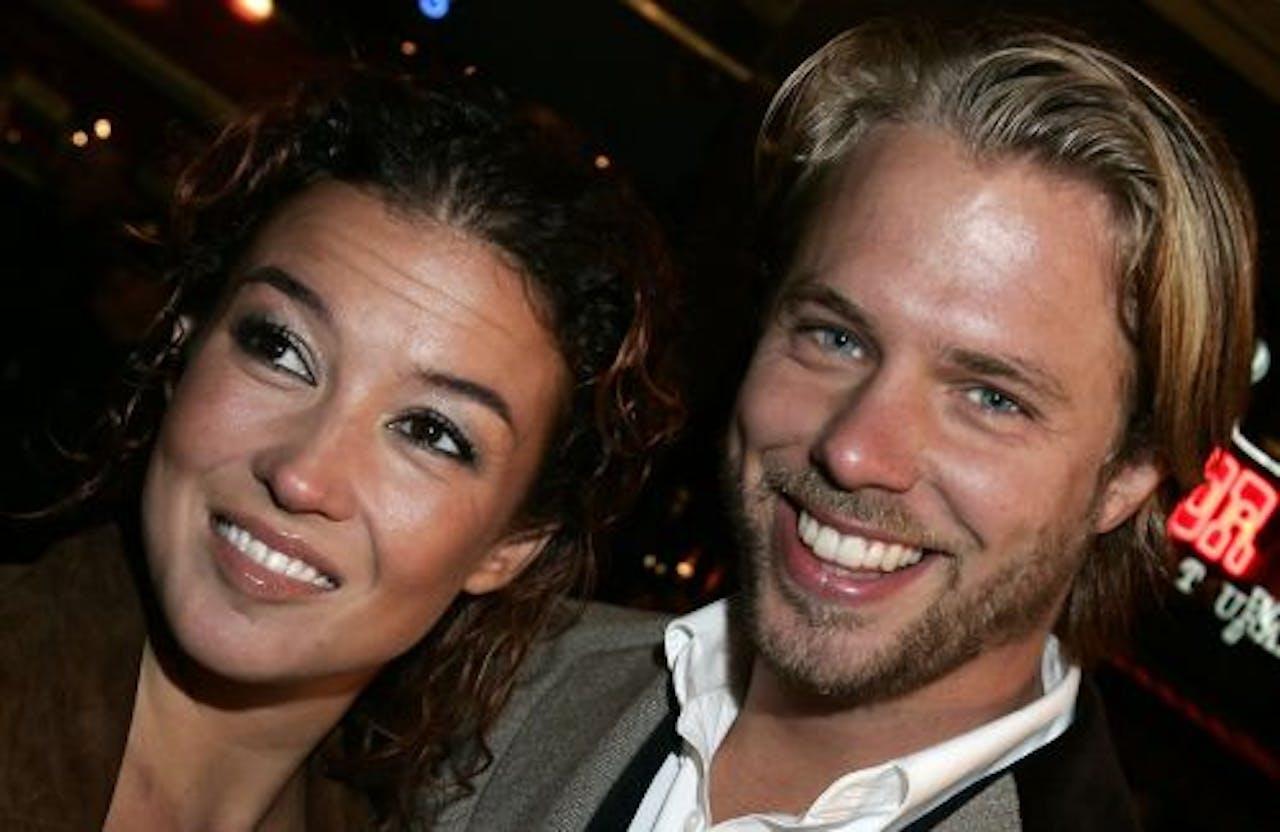 Katja Schuurman en Thijs Römer. ANP